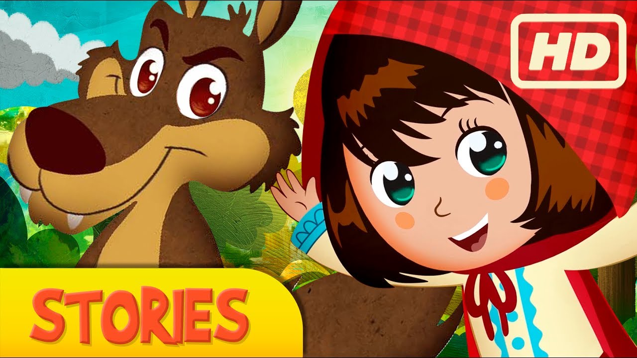 Download LITTLE RED RIDING HOOD, story for children, Fairy Tales and Stories for Kids,  kids story