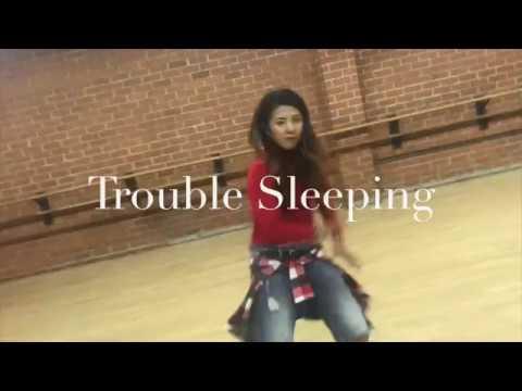 Lil Eddie ft  JAY'ED & Casper - Trouble Sleeping / Yuki Shundo Dance Choreography