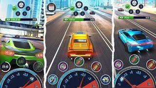 Nitro Racing GO | Idle Clicker & Top Car Simulator Gameplay | GameZone