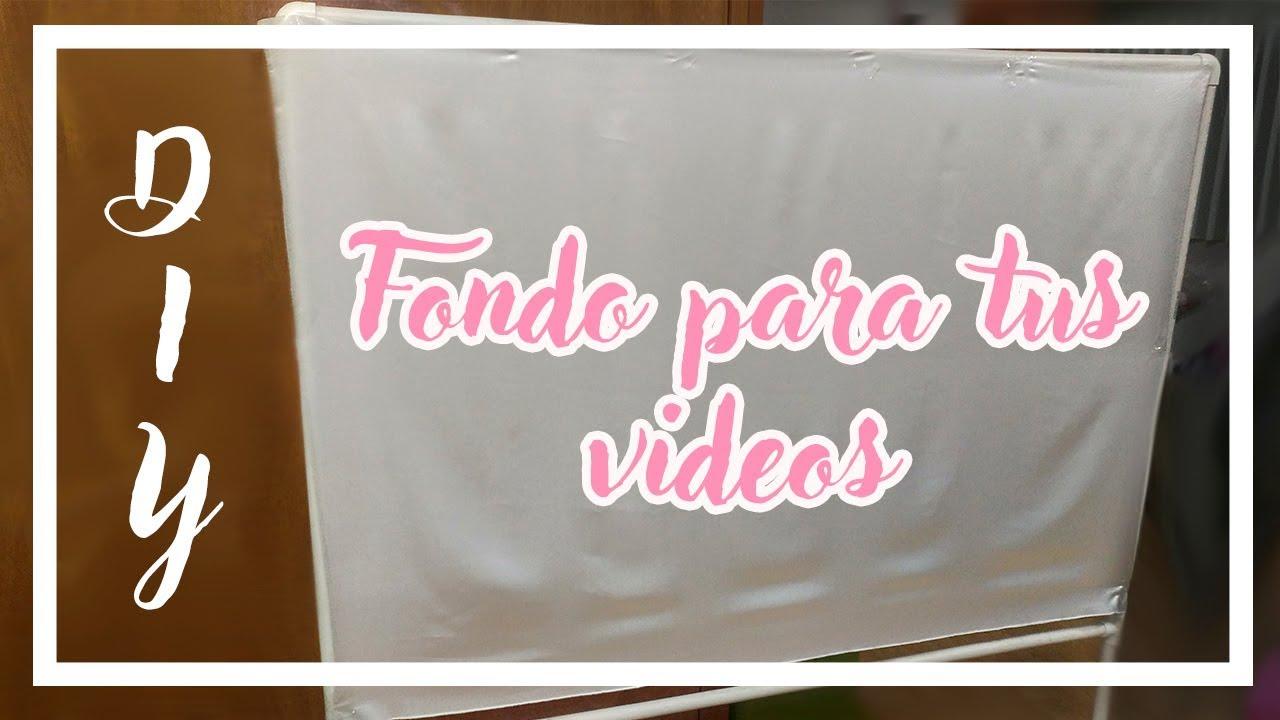 DIY marco de pvc para fondo de Youtube ¡súper barato!   Lau Kudo ...