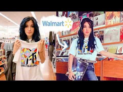 styling walmart clothes and tricking my followers 😈