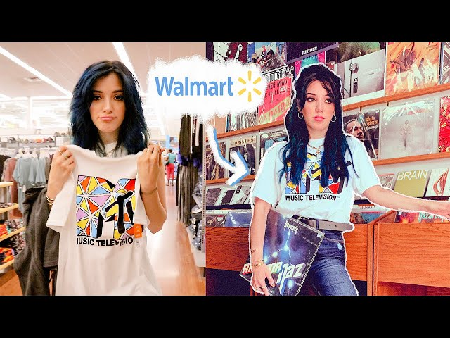 styling walmart clothes and tricking my followers ????