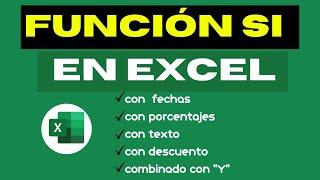 ejercicios de la FUNCION SI en Excel ( 10 ejemplos)
