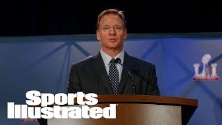 Roger Goodell On National Anthem Protests: 'There's A Time And Place' | SI NOW | Sports Illustrated thumbnail