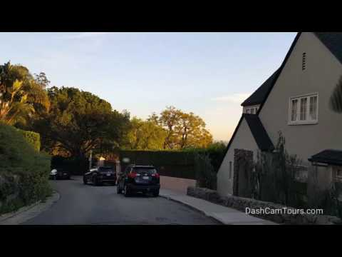Los Angeles Driving Tour: Los Feliz Estates (Above Los Feliz Blvd, Below Griffith Park Observatory)