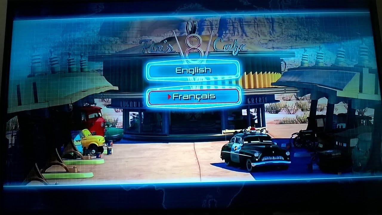 Cars Dvd Menu