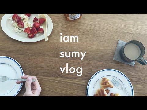 (vlog)06-|家での日常|二人暮らしの過ごし方.インテリア.お皿.暮らし.部屋.interior.plate.room