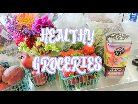 Farmers Market Shopping + Healthy Food Haul!