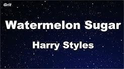 Karaoke♬ Watermelon Sugar - Harry Styles 【No Guide Melody】 Instrumental