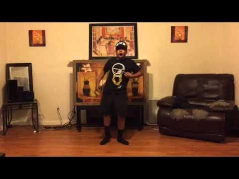 Kidathegreat dancing to #damnmommy