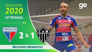 FORTALEZA 2 X 1 ATLÉTICO-MG | MELHORES MOMENTOS | 14ª RODADA BRASILEIRÃO 2020 | ge.globo