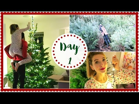 FINDING THE PERFECT CHRISTMAS TREE | VLOGMAS