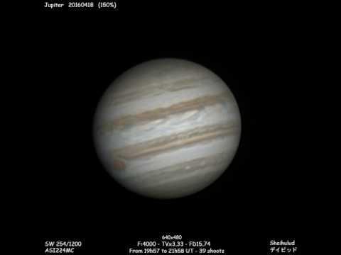 Jupiter - 20160418