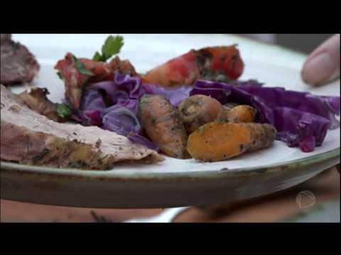 Chef Dalton Rangel Prepara Receitas Com Alimentos Orgânicos