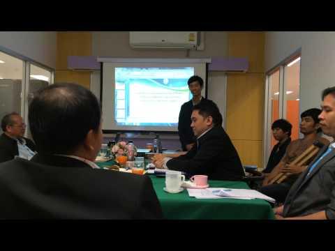 สอบ 5 บท บดินทร์ จีนเปีย 22 ก.พ. 58 ป.โท เทคโนโลยีสารสนเทศฯ รุ่นที่ 18