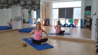 Yoga con Nuria. Clinica San Gil