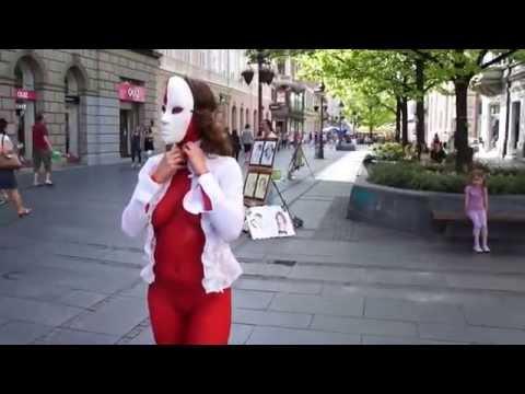 Street ART Performance - ZONE RED - Belgrade