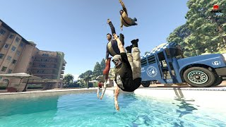 Doing All The Heists On GTA 5 Ep.2 - Funny Moments Fun With The Crew