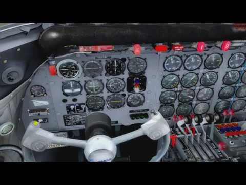 PMDG Douglas DC-6 Tutorial Flight [GERMAN] part2
