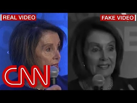 Trump allies share fake video of Nancy Pelosi stammering her words