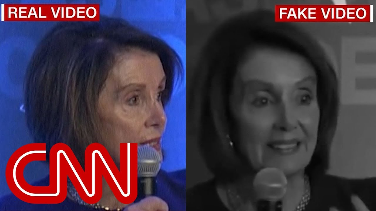 Trump Allies Share Fake Video Of Nancy Pelosi Stammering Her Words Youtube