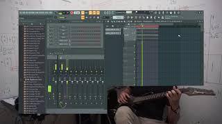 boy pablo - tkm (solo practice with loop recording in FL Studio) [ganiat]