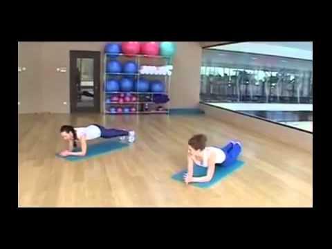 Упражнения для кора, пресса и спины — 20-минутная тренировка