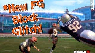 how to block field goals in madden 16 fg block glitch