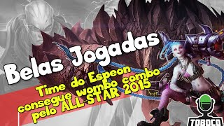 Time do Espeon consegue wombo combo pelo ALL-STAR 2015