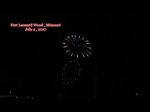 Elvis Presley Lives  - Independence Day Fireworks Fort Leonard Wood , Missouri 2017