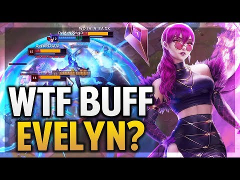 Evelyn Buff Ultimate Mas Rota Que Nunca League Of