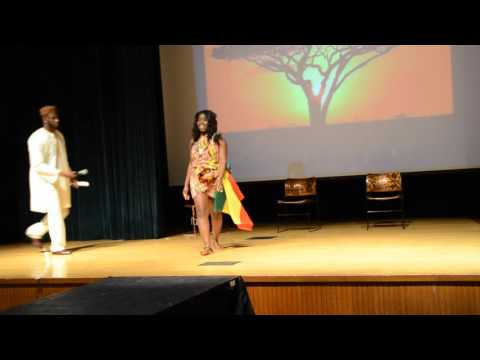 Miss Africa PSU 2015: Talent section