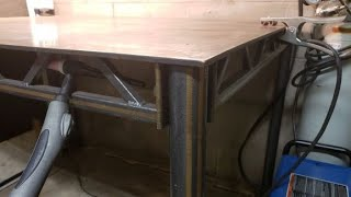 Building a Trussed Welding Table