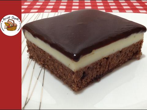 Pudingli kek tarifi - Pudingli pasta nasıl yapılır