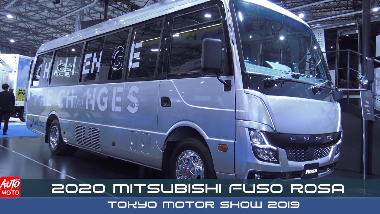 2020 Mitsubishi Fuso Rosa Exterior And Interior Tokyo Motor Show 2019 Youtube