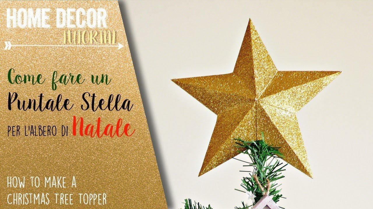 Puntale A Stella Per Albero Di Natale.Puntale Stella Per L Albero Di Natale Christmas Tree Topper Sizzix Big Shot Youtube