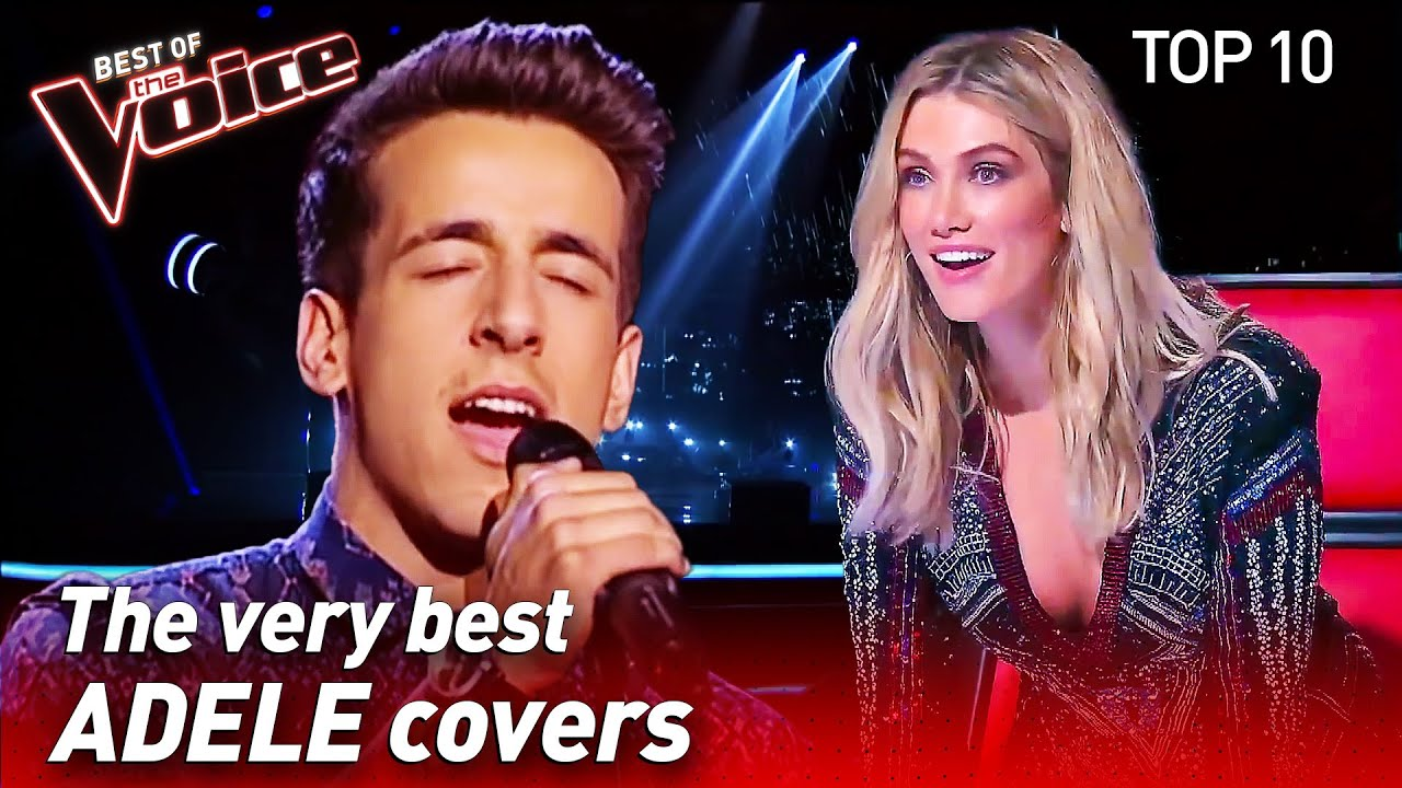 Download TOP 10 | INCREDIBLE ADELE Covers in The Voice