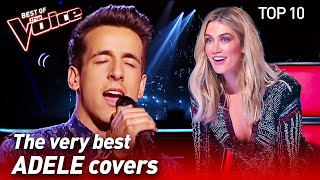 TOP 10 | INCREDIBLE ADELE Covers in The Voice