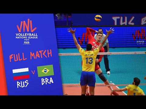 russia-v-brazil---full-match---semi-final-|-men's-vnl-2018