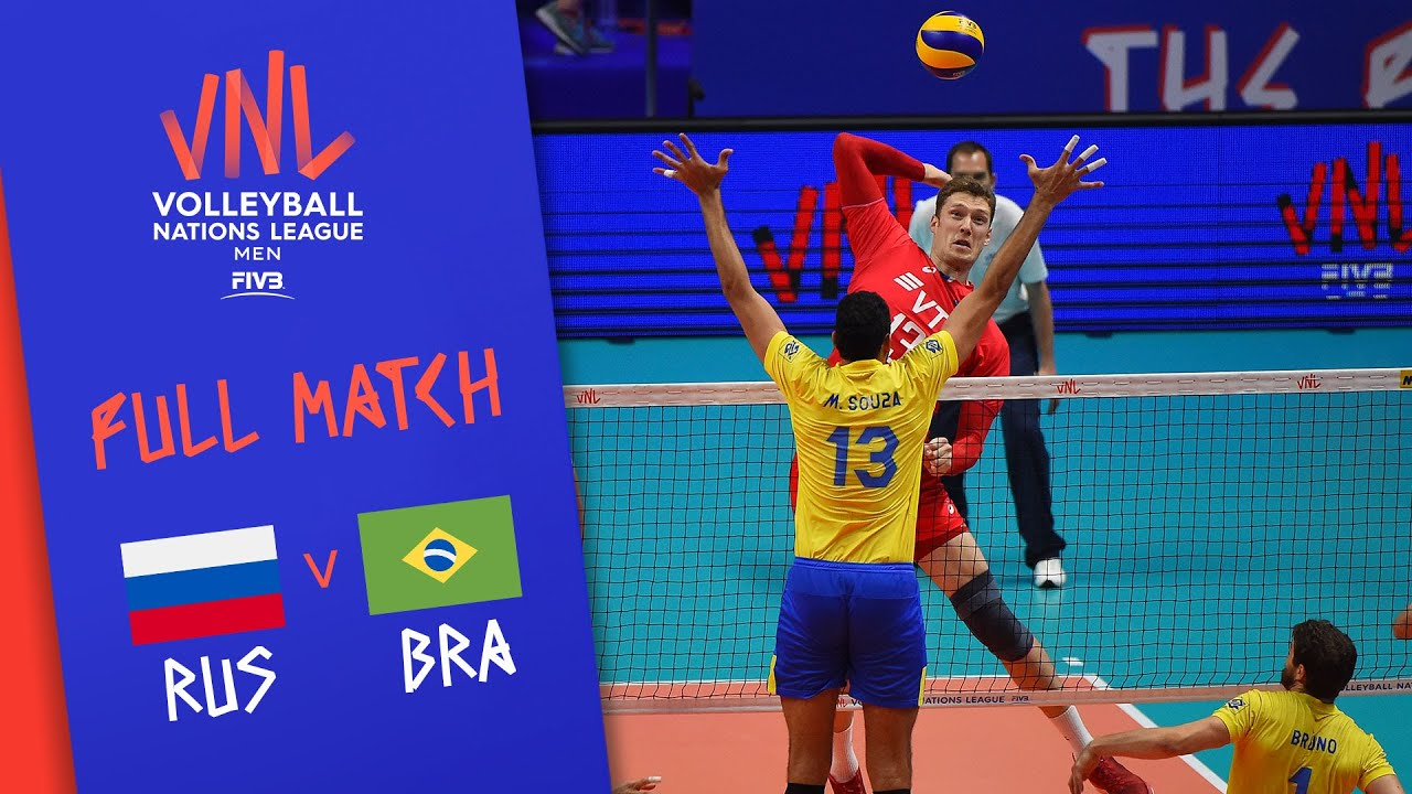 Download Russia v Brazil - Full Match - Semi Final | Men's VNL 2018