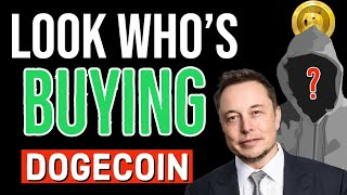 DOGECOIN HUGE MOVE CONFIRMED! WHO'S BUYING DOGE? LATEST NEWS & CRYPTOCURRENCY UPDATES!!