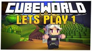 Cube World - JestĘ Vampirem!! Multiplayer Let's Play #1 /w Multi, Delti, Nilux I Czulek