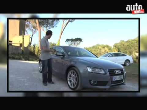 essai audi a5 sportback youtube. Black Bedroom Furniture Sets. Home Design Ideas