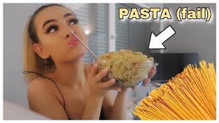 cook with me - PASTA TIME (as always) - DAILY VLOG