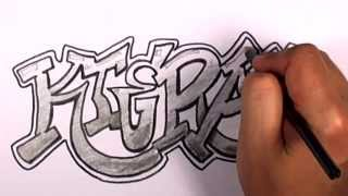 How to Draw Graffiti Letters #2 Kieran - 50 Names Promotion
