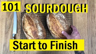 Beginners Sourdough Loaf, Start to Finish - Bread Tip 101 - Bake With Jack