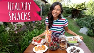 Easy & Healthy Snack Ideas For School & Work! Raw Vegan