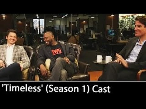 'Timeless' (Season 1) Cast: Matt Lanter, Goran Višnjić & Malcolm Barrett Interview | Oct