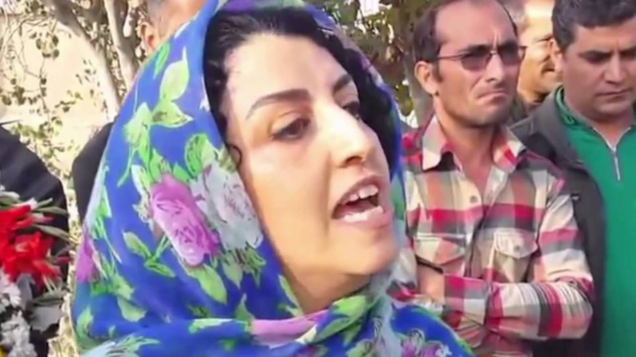 Free Narges Mohammadi Rally - Amnesty International (TriCities Branch), BC  Canada - July 17, 2016