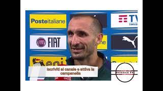 Svizzera Italia 0 - 0 intervista Giorgio Chiellini || post partita le parole del capitano